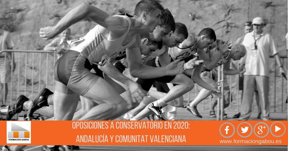 Oposiciones Conservatorio en 2020: Andalucía y Comunitat Valenciana