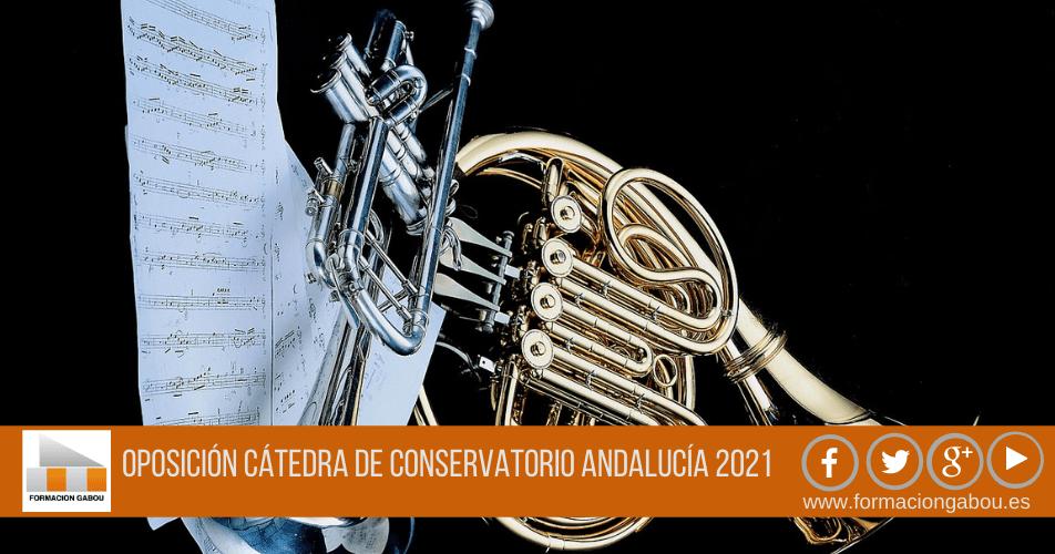 CÁTEDRA CONSERVATORIO ANDALUCIA 2021