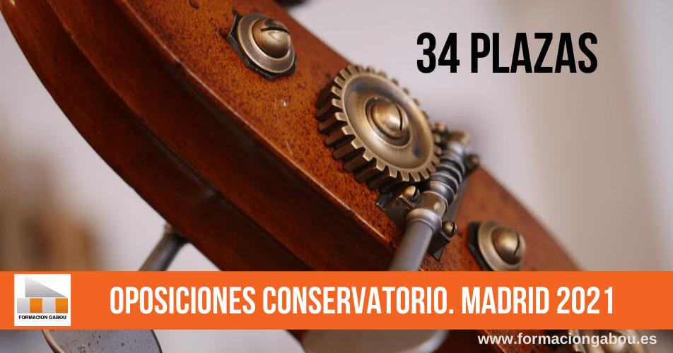 oposiciones conservatorio Madrid